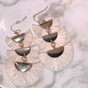 Tiered Statement Earrings
